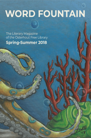 cover image for word fountain, spring/summer 2018 15